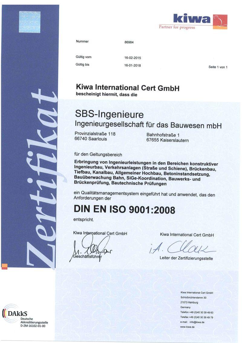 Zertifizierung 001